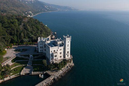 Castello Di Miramare Golfo Di Trieste Italy Travel Web