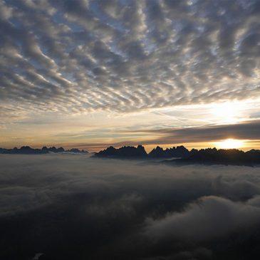 Monte Rite Dolomiti – Museo delle Nuvole – Cibiana di Cadore